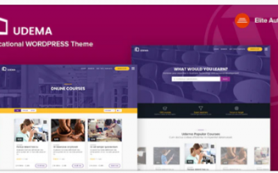 You are downloading UDEMA - Modern Educational WordPress Theme Nulled whose current version has been getting more updates nowadays, so, please