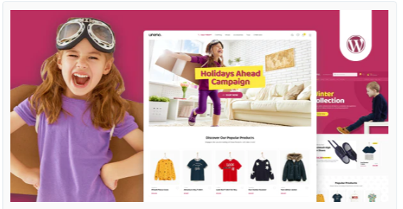 Download Uneno – Kids Clothing & Toys Store WooCommerce Theme Nulled