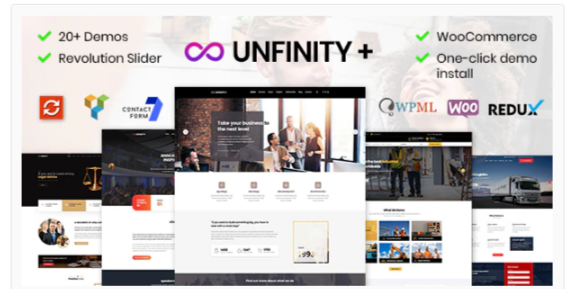 Download Unfinity – One page WordPress Nulled