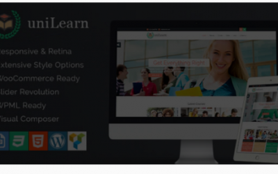 You are downloading UniLearn - Education and Courses WordPress Theme Nulled whose current version has been getting more updates nowadays, so, please