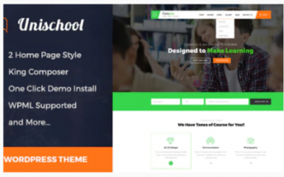 You are downloading Unischool- Education WordPress Theme Nulled whose current version has been getting more updates nowadays, so, please keep visiting