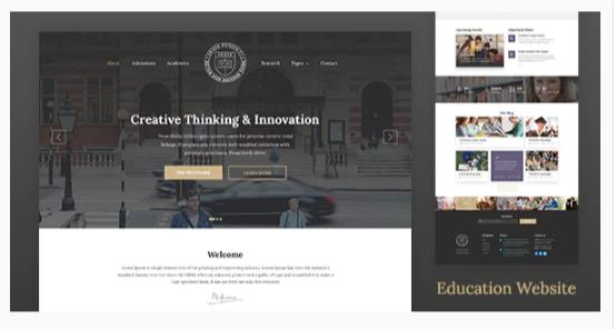Download Unisco – Education WordPress Theme Nulled