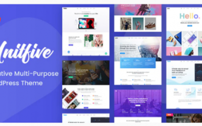You are downloading Unit Five - Creative Multi-Purpose Theme + RTL Nulled whose current version has been getting more updates nowadays,