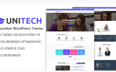 You are downloading Unitech - Education WordPress Theme Nulled whose current version has been getting more updates nowadays, so, please keep visiting