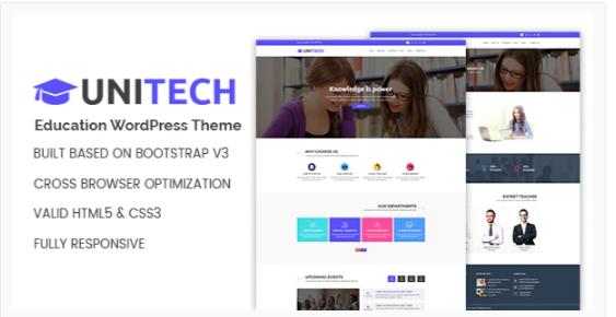 Download Unitech – Education WordPress Theme Nulled