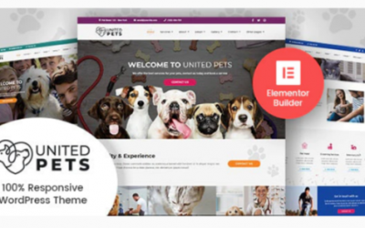 You are downloading United Pets - Veterinary WordPress Theme Nulled whose current version has been getting more updates nowadays, so, please keep visiting