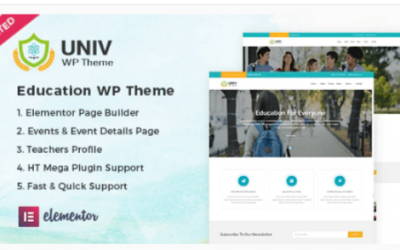You are downloading Univ – Education WordPress Theme Nulled whose current version has been getting more updates nowadays, so, please keep visiting for getting
