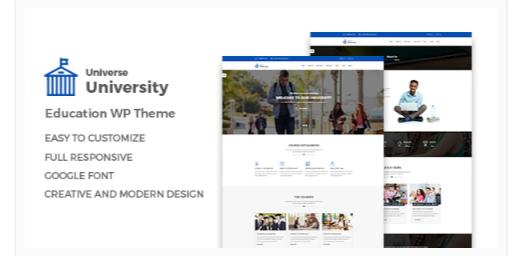 Download niverse – Education WordPress Theme Nulled