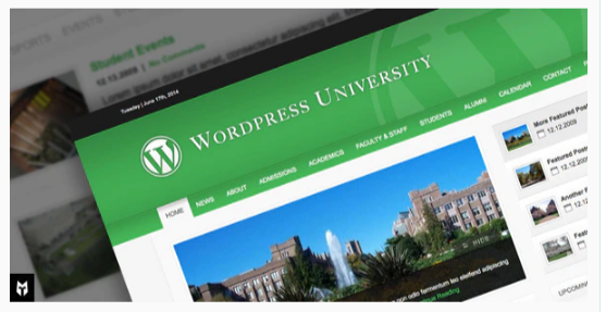 Download University: WordPress Theme For Colleges Nulled