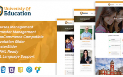 You are downloading University of Education WordPress Theme - Courses Management WP Nulled whose current version has been getting more updates nowadays,