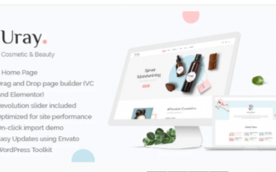 You are downloading Uray - Cosmetic & Beauty Shop WordPress WooCommerce Theme Nulled whose current version has been getting more updates nowadays,