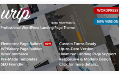 You are downloading Urip - Marketing Landing Page Nulled whose current version has been getting more updates nowadays, so, please keep visiting for getting