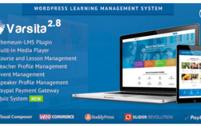 You are downloading Varsita - Online Course Platform Theme with Built-in Learning Management System Nulled whose current version has been getting more updates