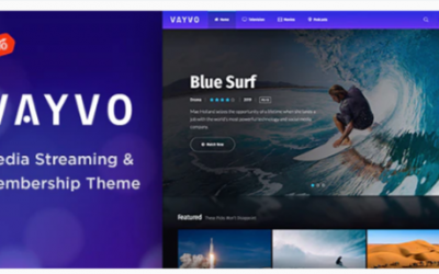 You are downloading Vayvo - Media Streaming & Membership Theme Nulled whose current version has been getting more updates nowadays, so, please