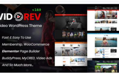 You are downloading VidoRev - Video WordPress Theme Nulled whose current version has been getting more updates nowadays, so, please keep visiting