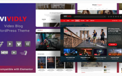 You are downloading Vividly | Video Blog WordPress Theme Nulled whose current version has been getting more updates nowadays, so, please keep visiting