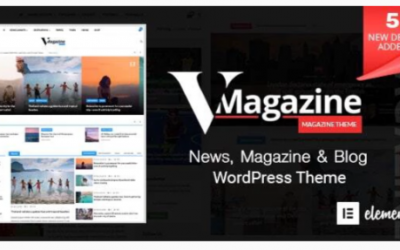 You are downloading Vmagazine - Blog, NewsPaper, Magazine WordPress Themes Nulled whose current version has been getting more updates nowadays,