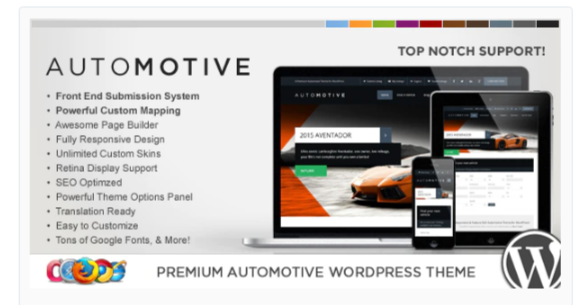 Download WP Pro Automotive 2 Responsive WordPress Theme Nulled