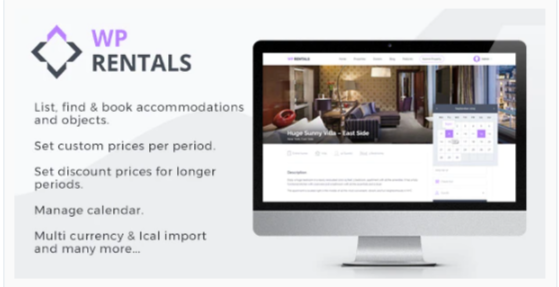 Download WP Rentals – Booking Accommodation WordPress Theme Nulled