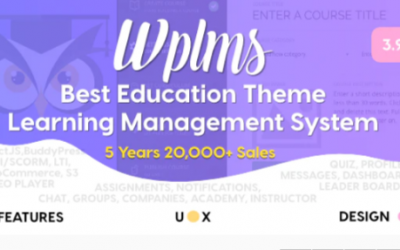ou are downloading WPLMS Learning Management System for WordPress, Education Theme Nulled whose current version has been getting more updates nowadays,