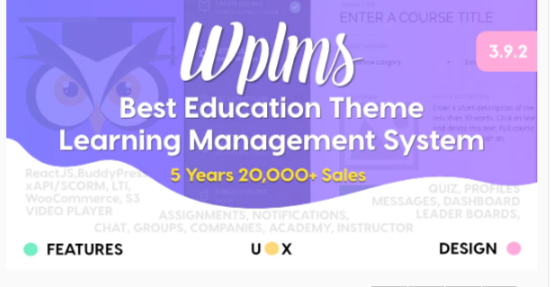 Download WPLMS Learning Management System for WordPress, Education Theme Nulled