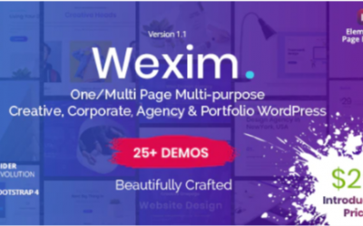 You are downloading Wexim - Creative WordPress Theme Nulled whose current version has been getting more updates nowadays, so, please keep visiting