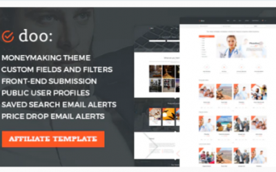 You are downloading WordPress Affiliate Marketing Theme - doo Nulled whose current version has been getting more updates nowadays, so