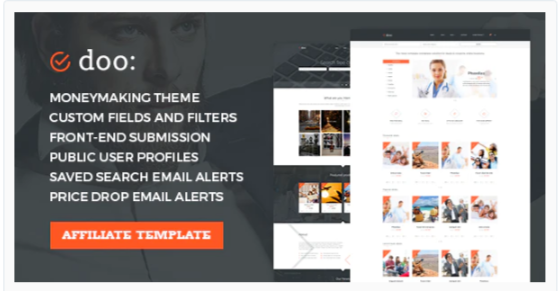 Download WordPress Affiliate Marketing Theme – doo Nulled