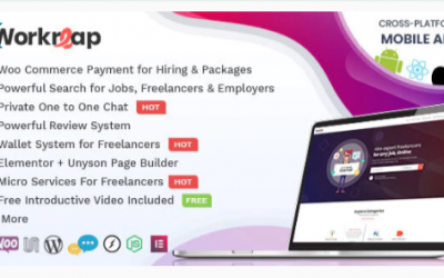 You are downloading Workreap - Freelance Marketplace and Directory WordPress Theme Nulled whose current version has been getting more updates