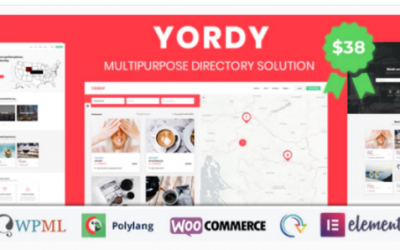 ou are downloading Yordy - Directory Listings WordPress Theme Nulled whose current version has been getting more updates nowadays, so, please
