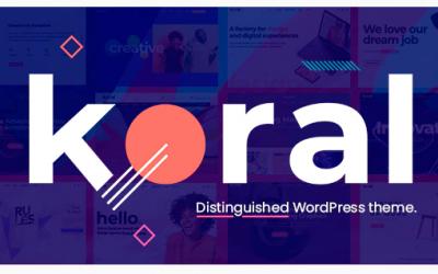 Koral - Multi-Concept WordPress Theme Nulled