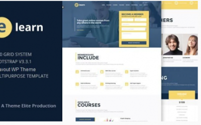You are downloading e-Learn - Onepage Bootstrap Education WordPress Theme Nulled whose current version has been getting more updates nowadays, so, pleas