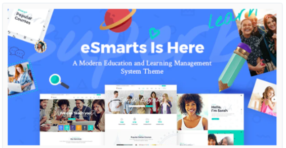 Download eSmarts – Education & LMS Theme Nulled