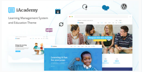 Download iAcademy – Education Theme for Online Learning Nulled