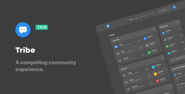 Download Tribe – A Compelling Community Experience Nulled