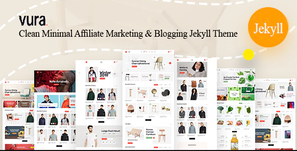 Download Vura – Affiliate Marketing & Blogging Jekyll Theme Nulled