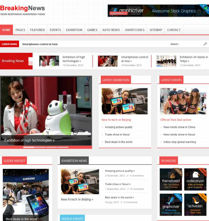 Download Newses WordPress Theme Nulled