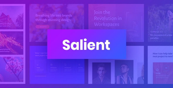 Download Salient WordPress Theme Nulled