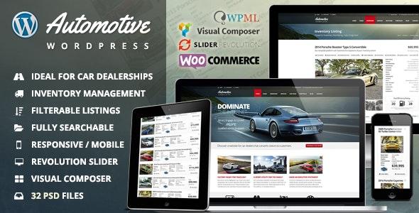 Download Automotive WordPress Theme Nulled