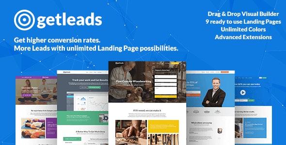 Download Landing Page WordPress Theme Nulled