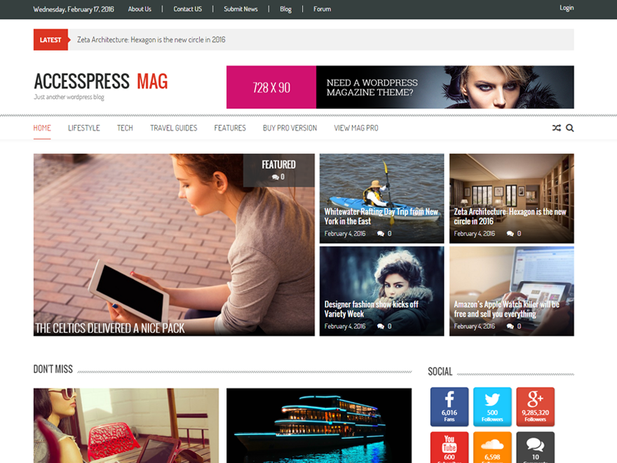 Download Mag WordPress Theme Nulled
