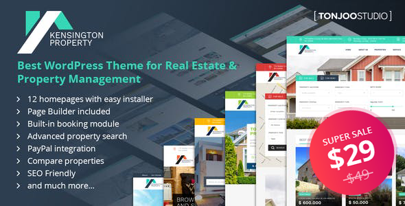 Download Property Management WordPress Theme Nulled