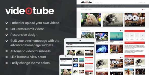 Download Video WordPress Theme Nulled