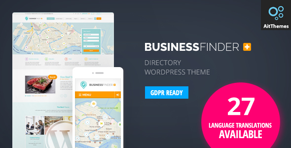 Download Business Directory WordPress Theme Nulled