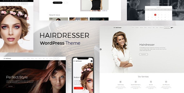 Download Hair Salon WordPress Theme Nulled