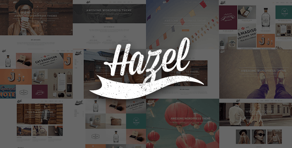 Download Hazel WordPress Theme Nulled