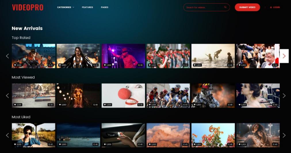 Download Netflix WordPress Theme Nulled