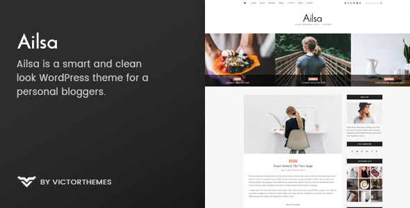 Download Personal Blog Woradpress Theme Nulled