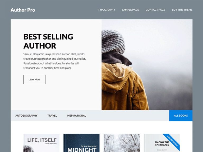 Download Author WordPress Theme Nulled