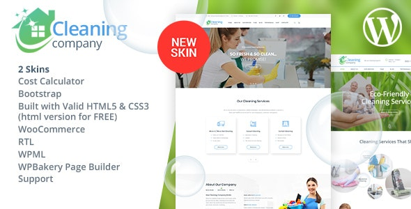 Download Cleaning WordPress Theme Nulled